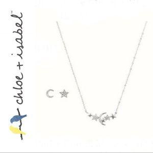 🆕 Petits Bijoux Moon + Stars Set c+i S003CLSR